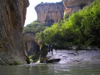 Río Vero montañas