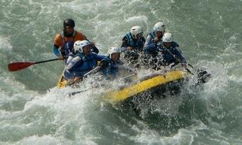 Rafting e hidrospeed en Huesca